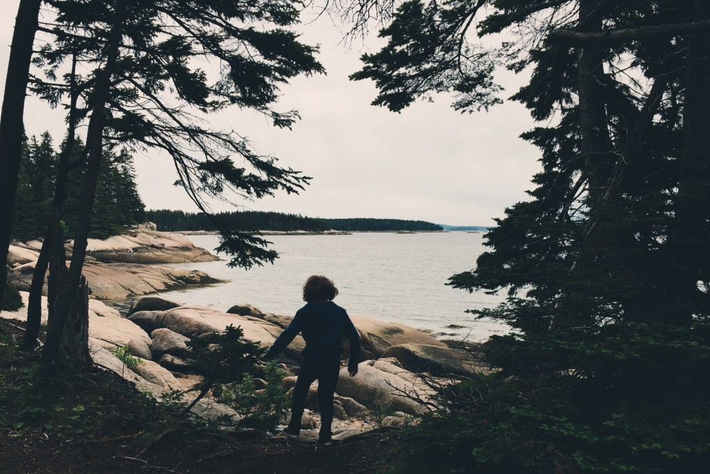 Child in Maine